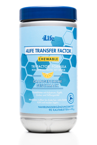 Chewable Tri-Factor (90 tablets) - 4Life Transfer Factor®