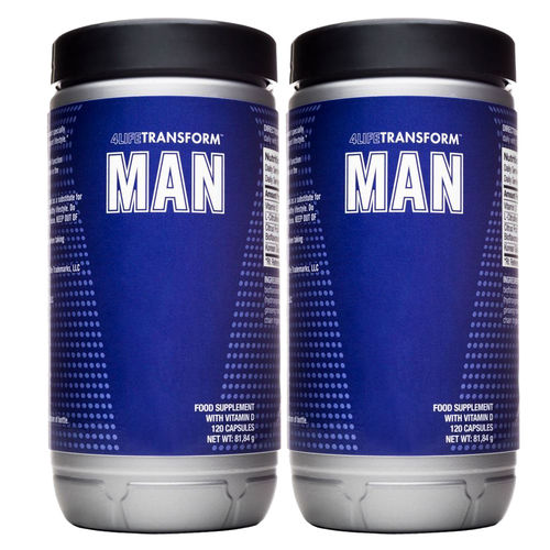 2x Man 4LifeTransform™ · 240 capsules