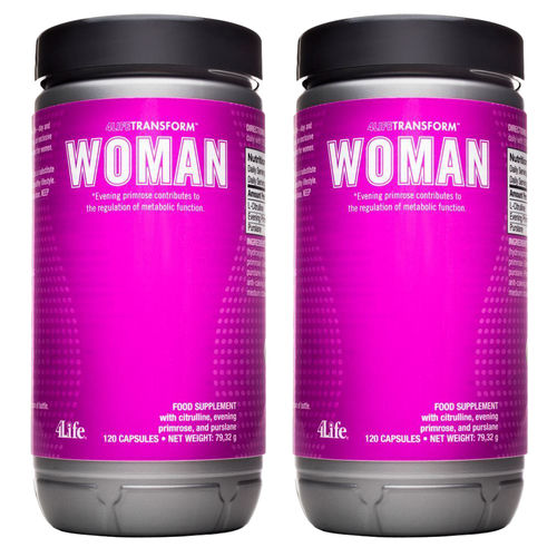 2x Woman  4Life Transform™ · 240 Kapseln
