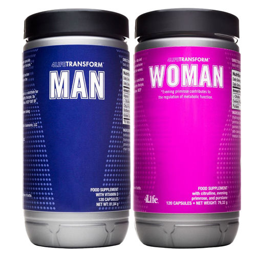 Woman & Man 4LifeTransform™ · je 120 Kapseln