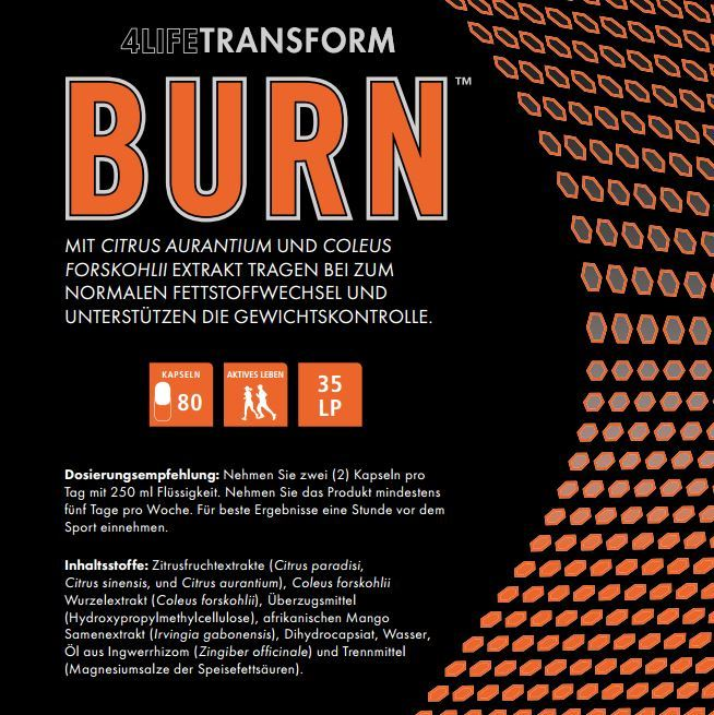 4lifetransform-Burn-Produktinfos